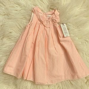Baby Girl Carter's Striped Bow Dress w/Bloomers
